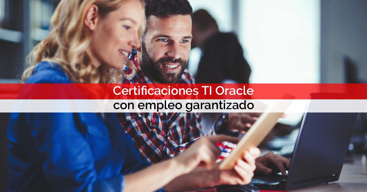 Certificaciones TI Oracle con empleo garantizado | Core Networks Sevilla