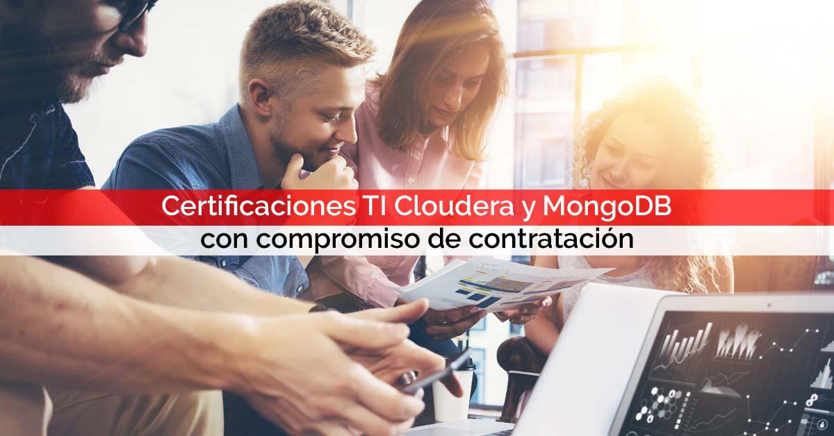 Certificaciones TI Cloudera y MongoDB con compromiso de contratación | Core Networks Sevilla
