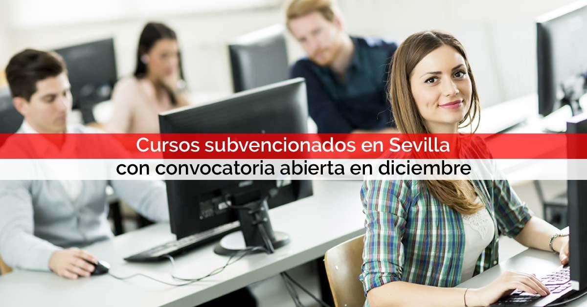 Cursos subvencionados en Sevilla con convocatoria abierta en diciembre | Core Networks Sevilla