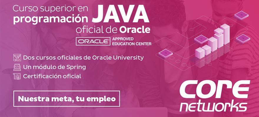 Curso Superior en Programación Java oficial de Oracle