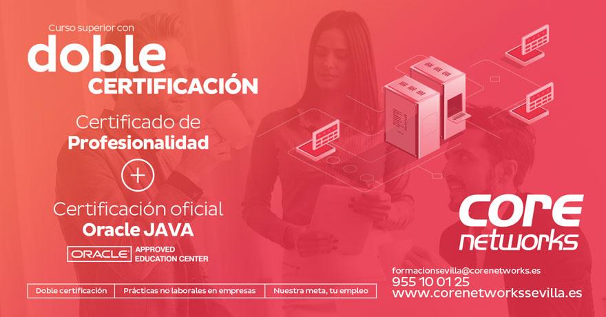 Doble certificación oficial: Aplicaciones con Tecnología Web + Java SE8 Programmer I