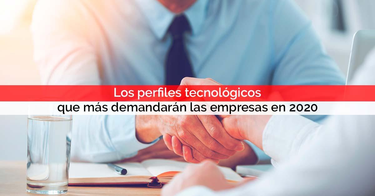 Los perfiles tecnológicos que más demandarán las empresas en 2020 | Core Networks Sevilla