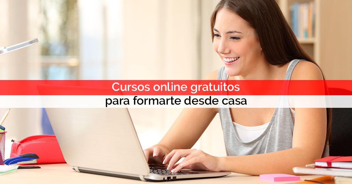 Cursos online gratuitos para seguir formándote sin salir de casa | Core Networks Sevilla