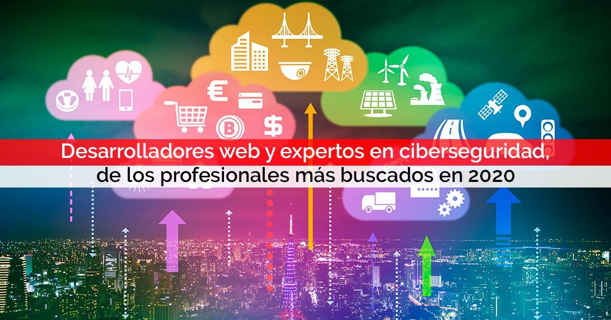 Desarrolladores web y expertos en ciberseguridad, de los profesionales más buscados en 2020 | Core Networks Sevilla